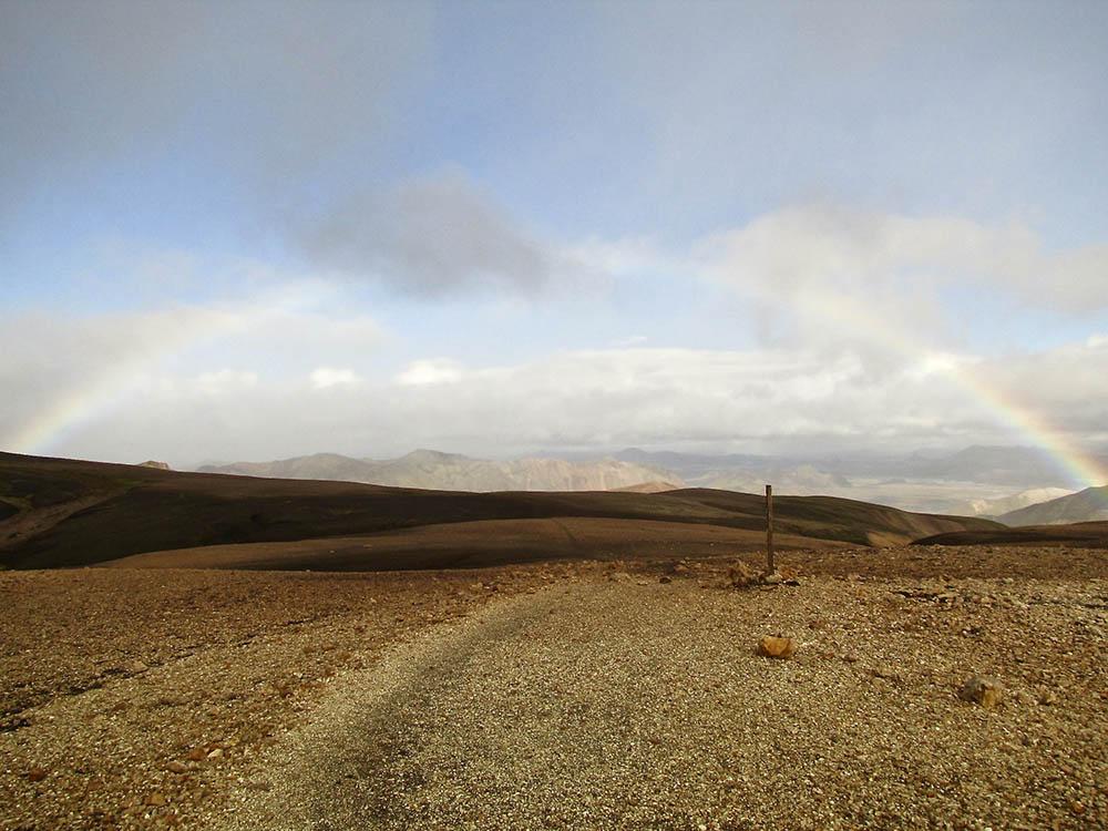 Laugavegur-Trail-Rainbow